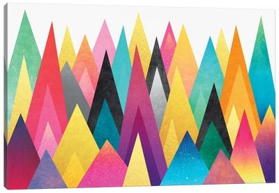 Dreamy Peaks Canvas Art Print