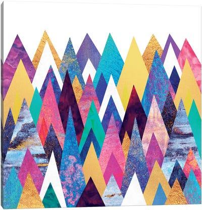 Enchanted Mountains Canvas Print #ELF38