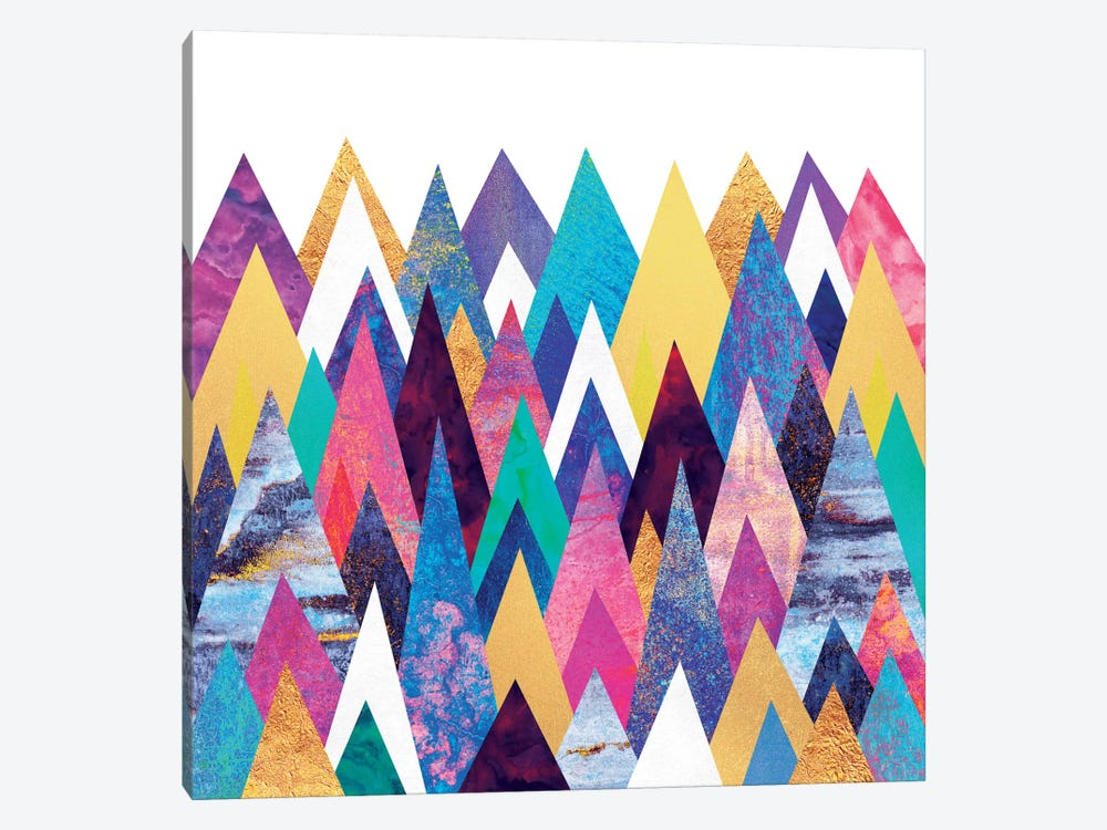 Enchanted Mountains by Elisabeth Fredriksson 1-piece Canvas Wall Art