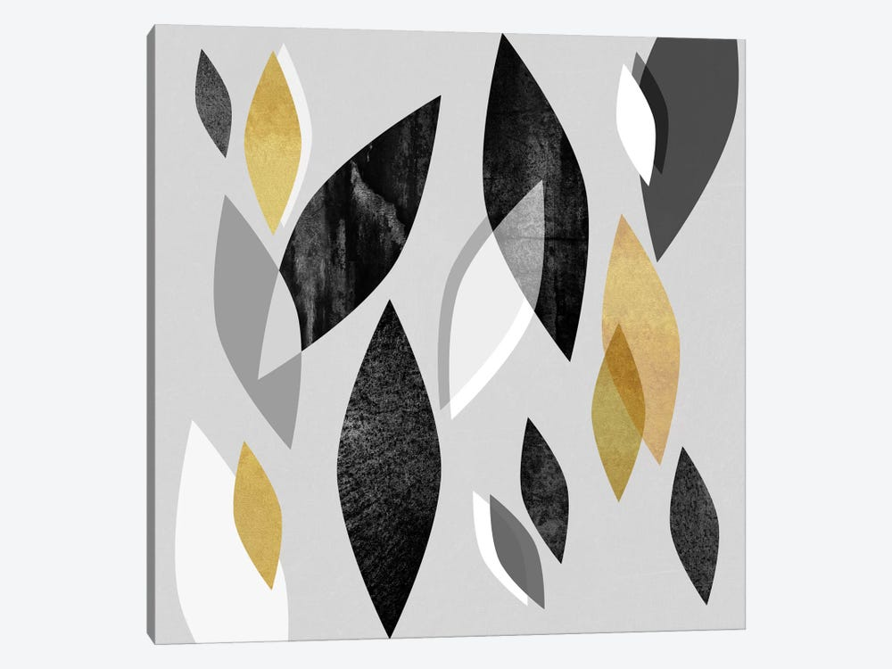 Falling Leaves by Elisabeth Fredriksson 1-piece Canvas Wall Art