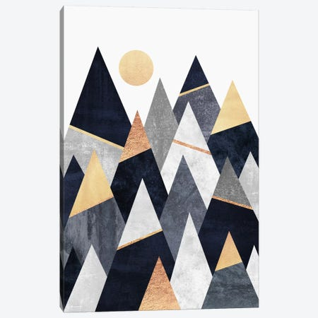Fancy Mountains Canvas Print #ELF42} by Elisabeth Fredriksson Canvas Print