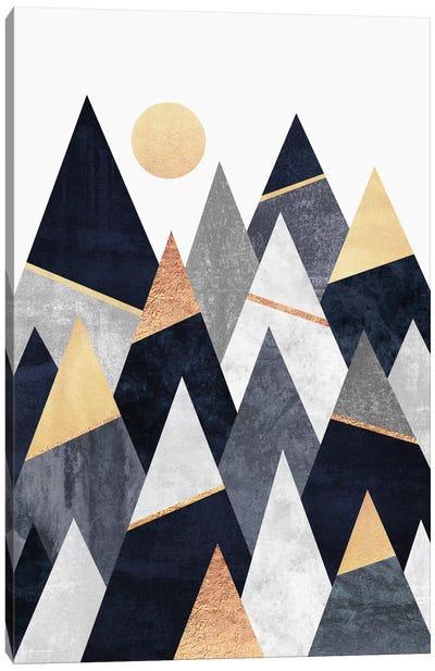 Fancy Mountains Canvas Art Print