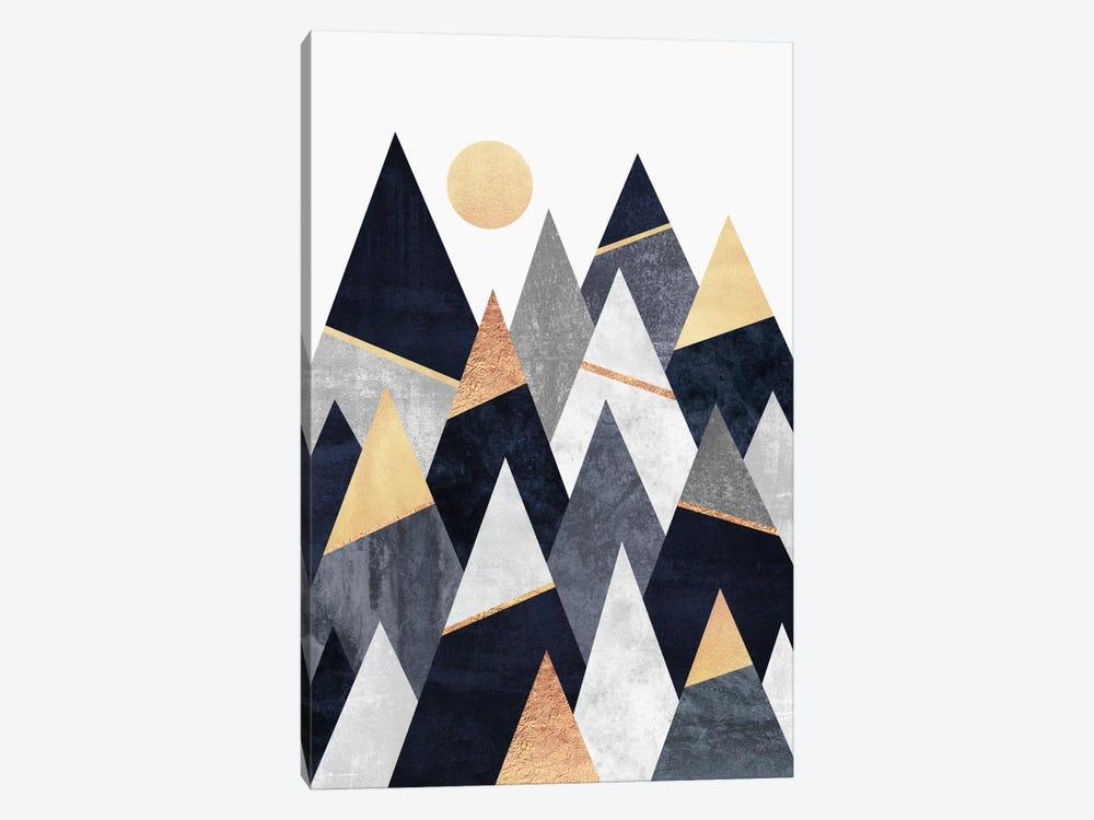 Fancy Mountains by Elisabeth Fredriksson 1-piece Canvas Art Print
