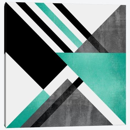 Foldings Canvas Print #ELF44} by Elisabeth Fredriksson Canvas Artwork