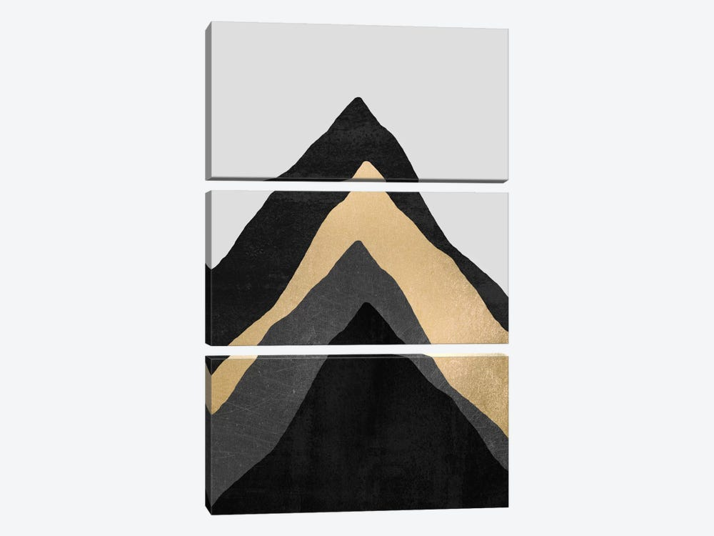 Four Mountains by Elisabeth Fredriksson 3-piece Canvas Wall Art