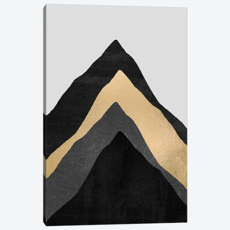 Four Mountains Canvas Print #ELF45} by Elisabeth Fredriksson Canvas Artwork