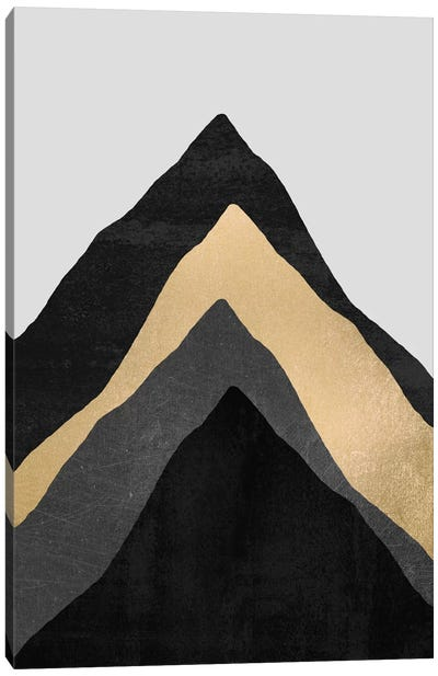 Four Mountains Canvas Art Print