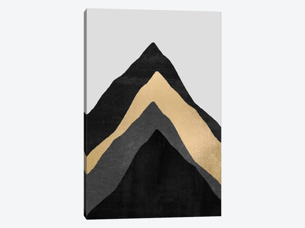Four Mountains by Elisabeth Fredriksson 1-piece Canvas Artwork