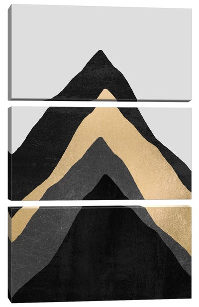 Four Mountains by Elisabeth Fredriksson Canvas Artwork