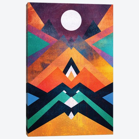 Full Moon Canvas Print #ELF46} by Elisabeth Fredriksson Canvas Artwork