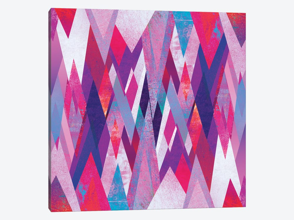 Geo Abstract by Elisabeth Fredriksson 1-piece Canvas Art
