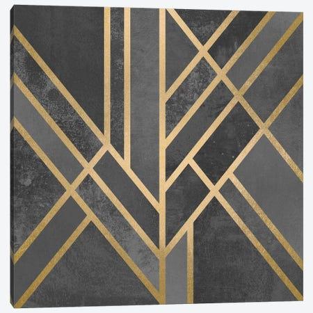 Art Deco Geometry I Canvas Print #ELF4} by Elisabeth Fredriksson Canvas Art