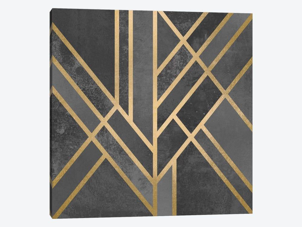 Art Deco Geometry I by Elisabeth Fredriksson 1-piece Art Print
