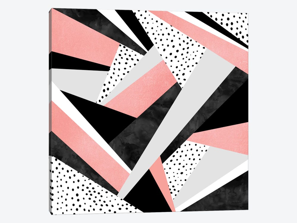 Happy Girl by Elisabeth Fredriksson 1-piece Canvas Print