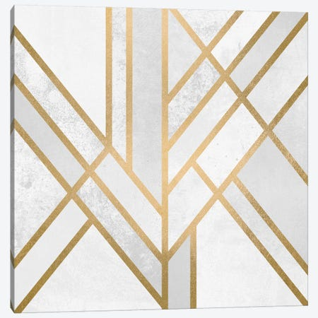 Art Deco Geometry II Canvas Print #ELF5} by Elisabeth Fredriksson Canvas Artwork