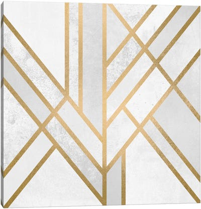 Art Deco Geometry II Canvas Art Print