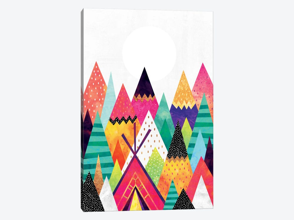 Land Of Color by Elisabeth Fredriksson 1-piece Canvas Artwork