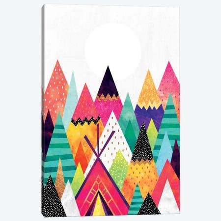 Land Of Color 3-Piece Canvas #ELF61} by Elisabeth Fredriksson Canvas Art Print