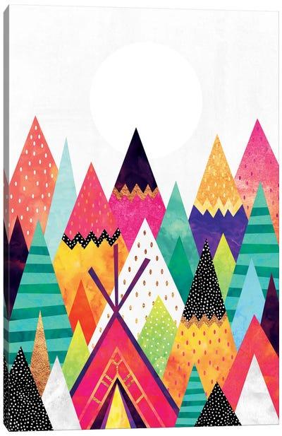 Land Of Color Canvas Art Print