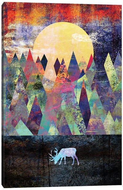 Lappland Canvas Art Print
