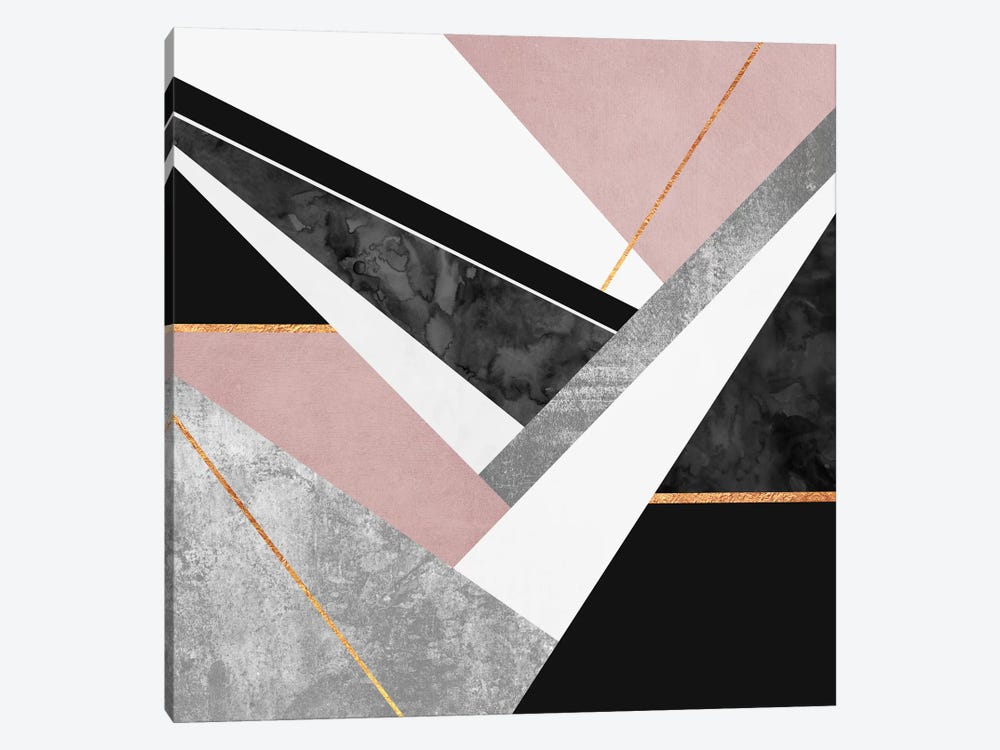 Lines And Layers I by Elisabeth Fredriksson 1-piece Canvas Print