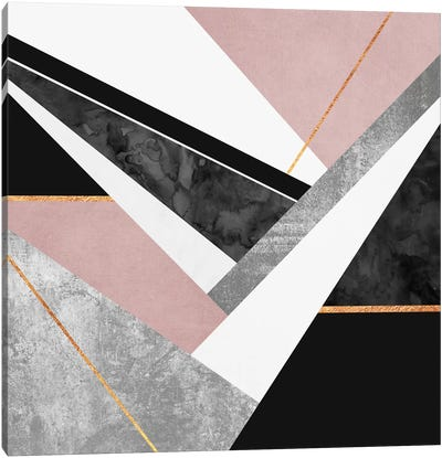 Lines And Layers I Canvas Art Print