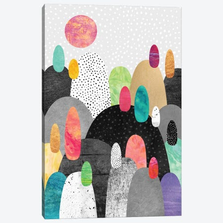 Little Land Of Pebbles Canvas Print #ELF68} by Elisabeth Fredriksson Canvas Art Print