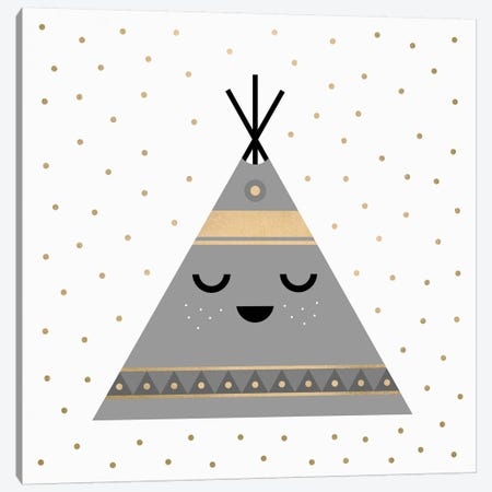 Little Tipi Canvas Print #ELF70} by Elisabeth Fredriksson Canvas Art