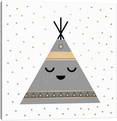 Little Tipi Canvas Art Print