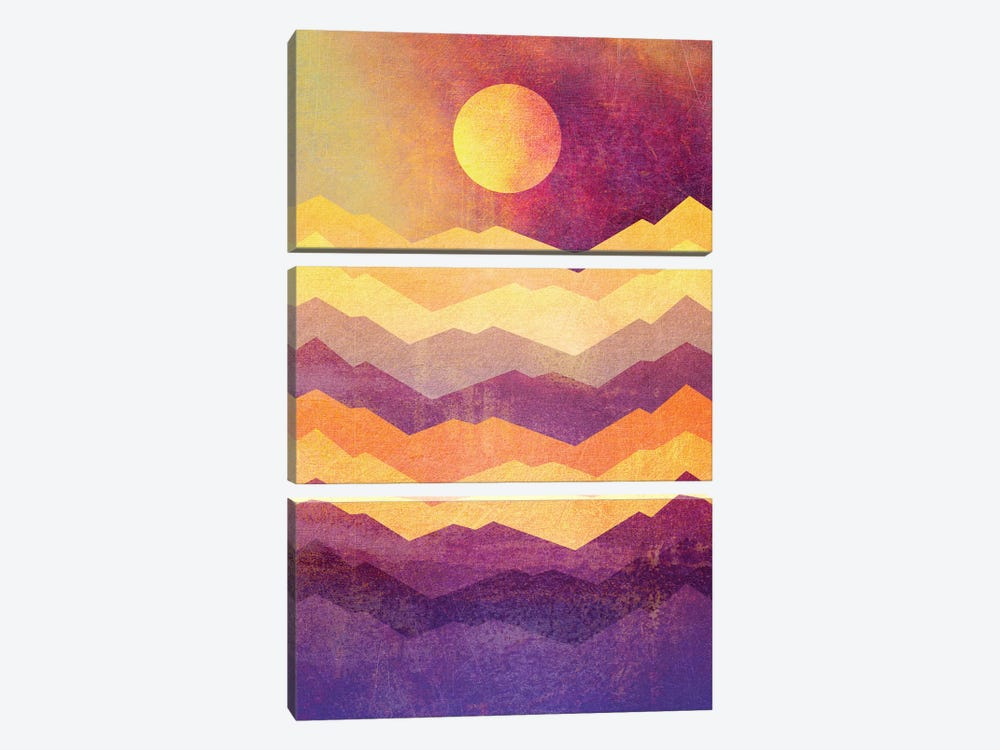 Magic Hour by Elisabeth Fredriksson 3-piece Canvas Print