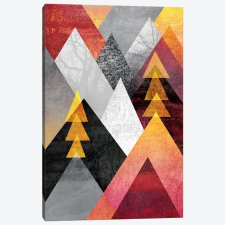 Mountaintops Canvas Print #ELF73} by Elisabeth Fredriksson Canvas Wall Art