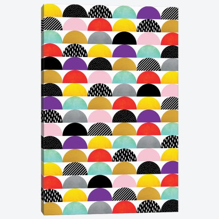 My Favorite Candy (Multicolored) Canvas Print #ELF74} by Elisabeth Fredriksson Canvas Print
