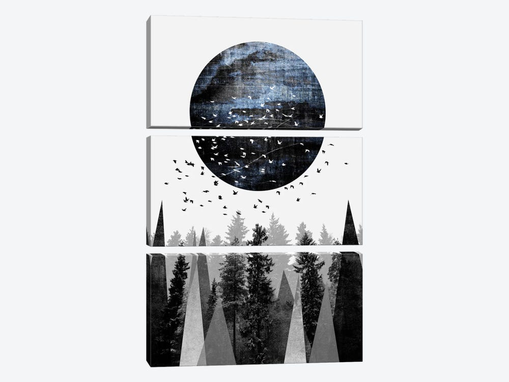 Nature by Elisabeth Fredriksson 3-piece Canvas Artwork