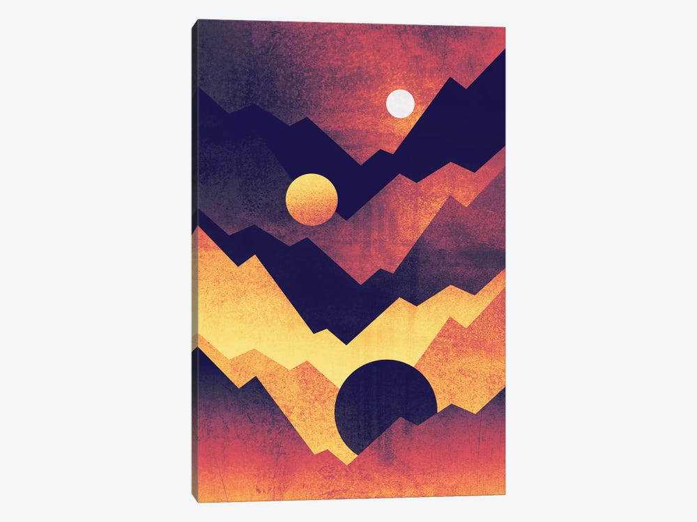 Nightfall by Elisabeth Fredriksson 1-piece Canvas Print