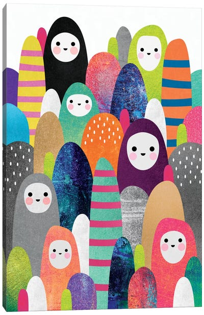 Pebble Spirits I Canvas Art Print