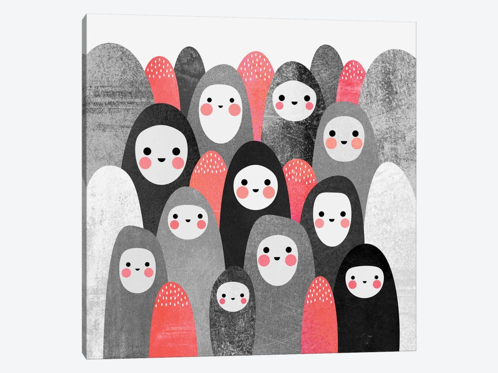Pebble Spirits II by Elisabeth Fredriksson 1-piece Canvas Print