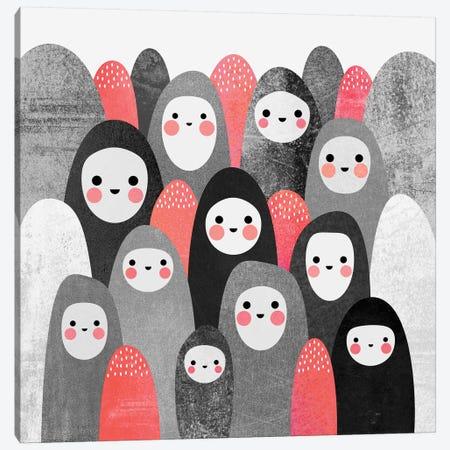 Pebble Spirits II Canvas Print #ELF84} by Elisabeth Fredriksson Canvas Wall Art