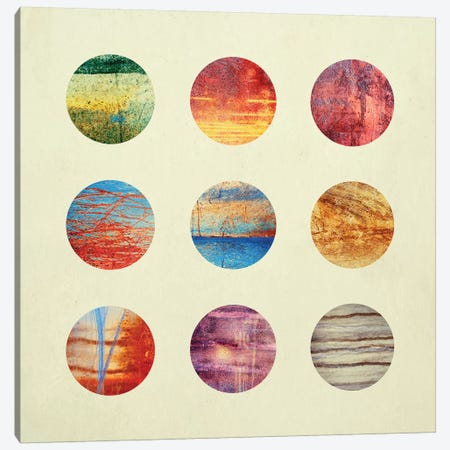 Planets Canvas Print #ELF86} by Elisabeth Fredriksson Canvas Wall Art