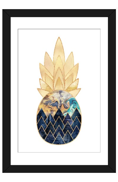 Precious Pineapple I Framed Art Print