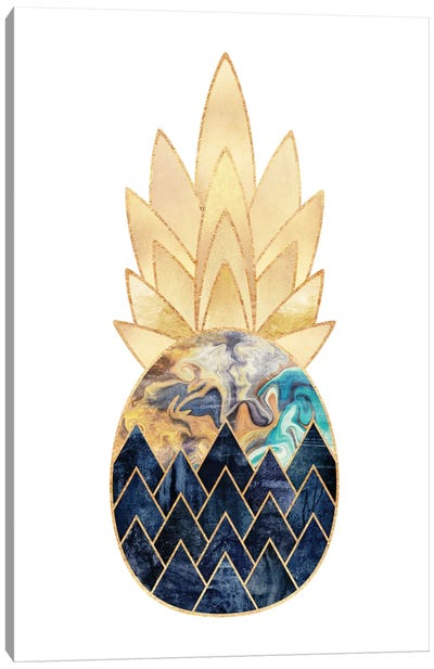 Precious Pineapple I Canvas Art Print
