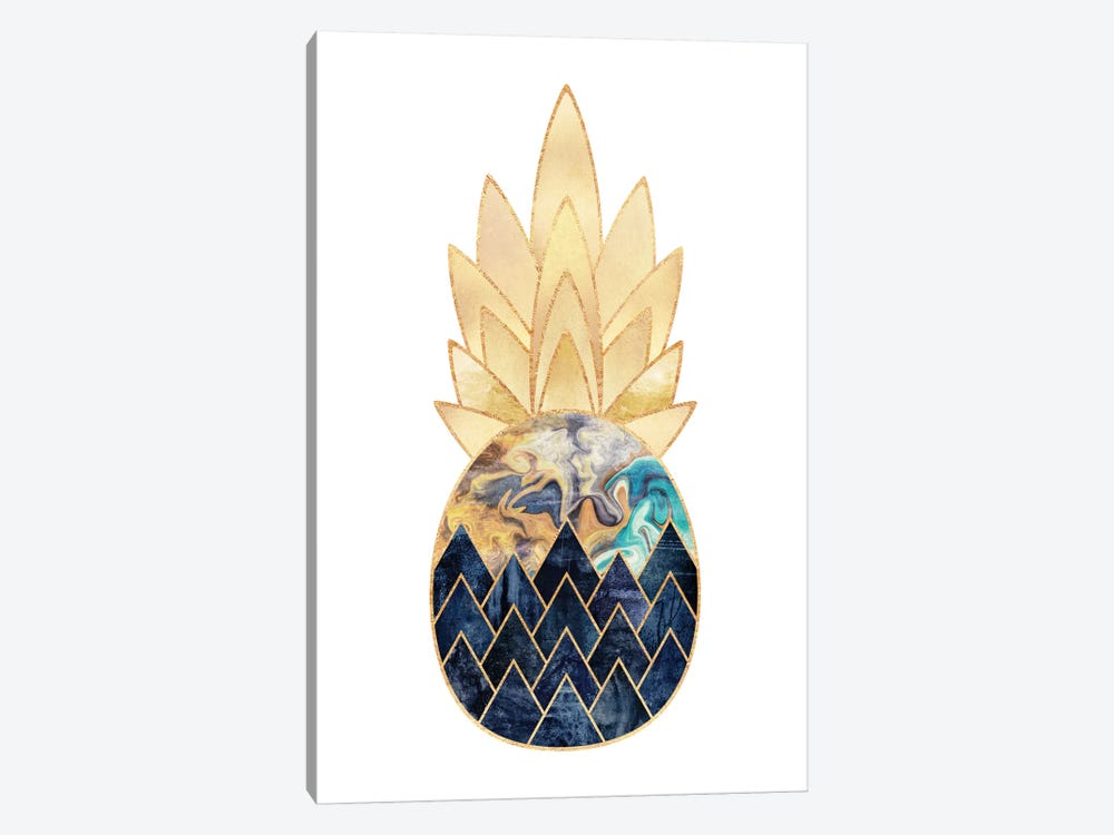 Precious Pineapple I by Elisabeth Fredriksson 1-piece Canvas Art