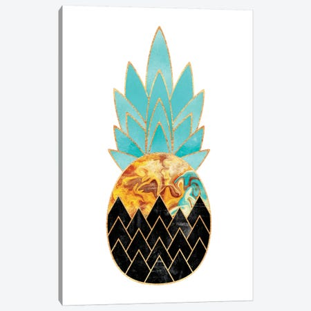 Precious Pineapple III Canvas Print #ELF89} by Elisabeth Fredriksson Canvas Art Print