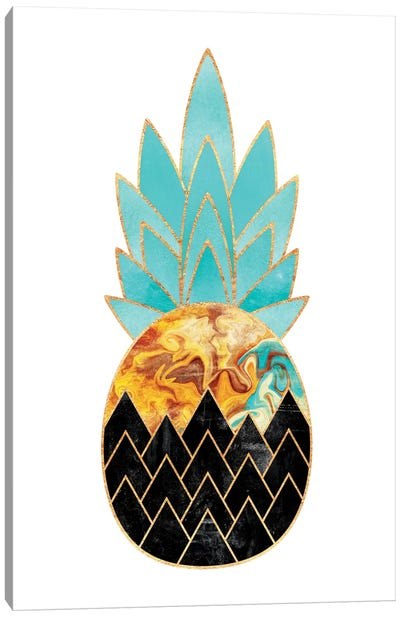 Precious Pineapple III Canvas Art Print