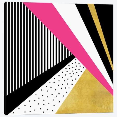 Pretty In Pink Canvas Print #ELF90} by Elisabeth Fredriksson Canvas Art