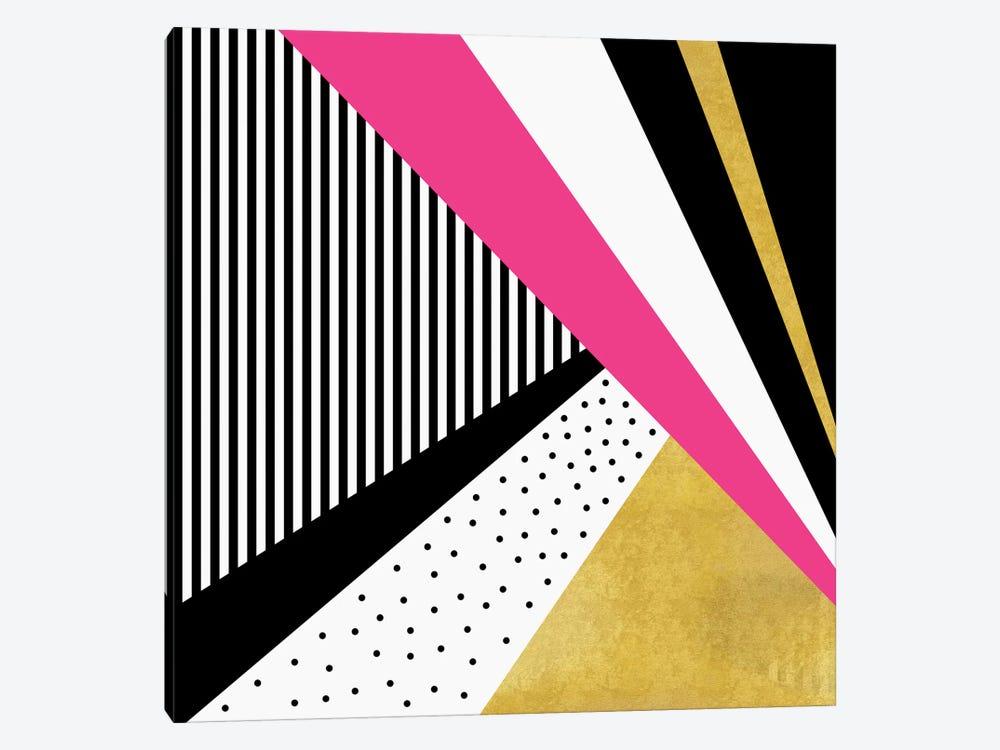 Pretty In Pink by Elisabeth Fredriksson 1-piece Canvas Art