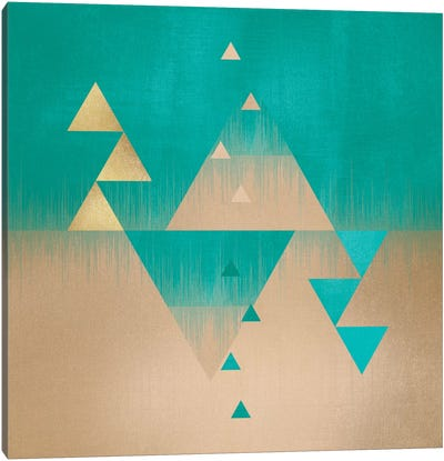Pyramids Canvas Art Print