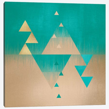 Pyramids Canvas Print #ELF94} by Elisabeth Fredriksson Canvas Art Print