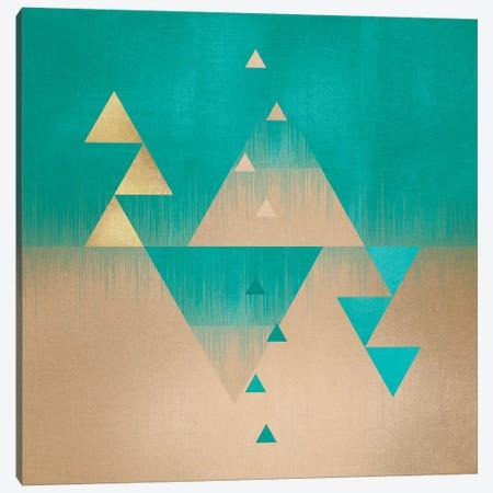 Pyramids 3-Piece Canvas #ELF94} by Elisabeth Fredriksson Canvas Art Print