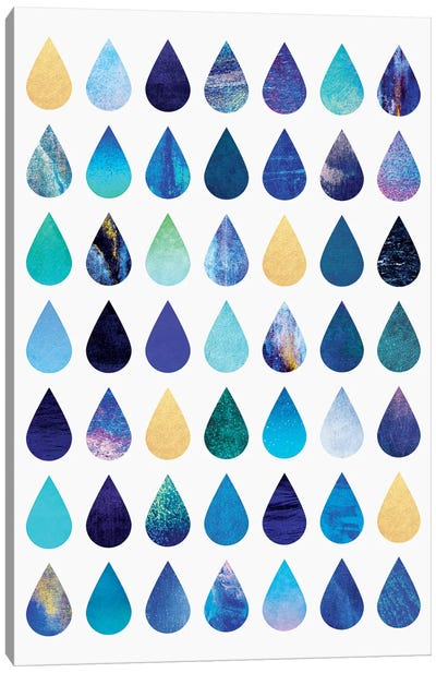 Rain Canvas Art Print