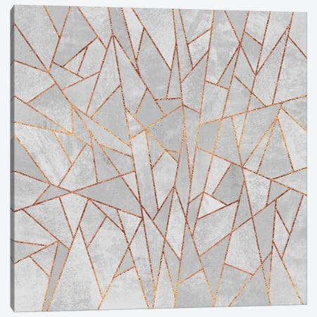 Shattered Concrete Canvas Print #ELF99} by Elisabeth Fredriksson Canvas Wall Art
